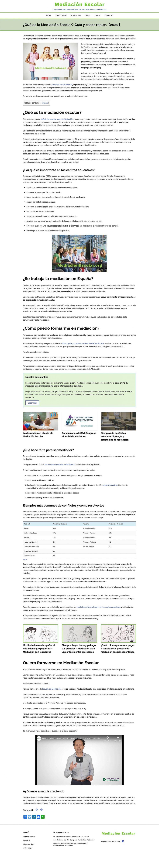 Mediación Escolar web full