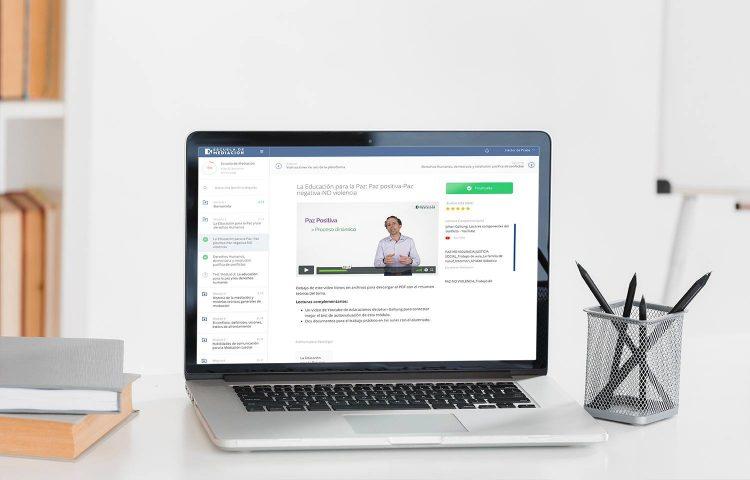 Plataforma curso online Mediación